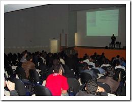 Ramon Durães palestrando no DevBrasil OpenDay 2011 (São Paulo, UniAnhanguera)