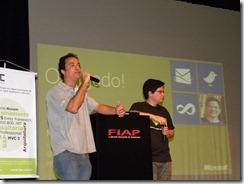 Ramon Durães e Marden Menezes no DevBrasil Summit 2012