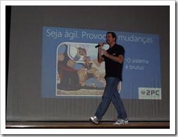Ramon Durães palestrando sobre Visual Studio / ALM / SCRUM no DevBrasil OpenDay 2012 FIAP