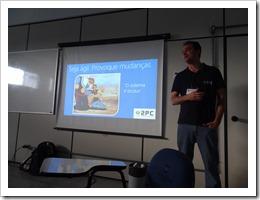 Ramon Durães palestrando no TDC 2012 em Florianópolis sobre Scrum Visual Studio Team Foundation Server 2012