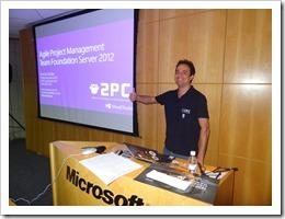 Ramon Durães palestrando no Visual Studio Summit 2012 Microsoft Brasil São Paulo
