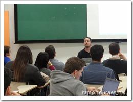 Ramon Durães palestrando no evento Codificando 10 anos sobre Gestão ágil & Team Foundation Server