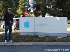 Ramon Durães visitando Apple nos EUA