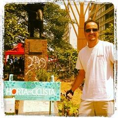 Ramon Durães na Horta do Ciclista