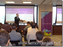 Ramon Durães palestrando no Embedded Developers Day 2014