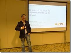 Ramon Durães palestrando no Regional Scrum Gathering® Rio 2014