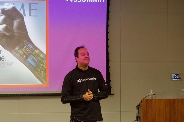 Ramon Durães palestrando sobre Transformação Digital