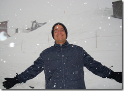 Ramon Durães na estação The Summit at Snoqualmie em Seattle 2009