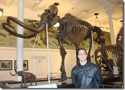 Ramon Durães em NewYork no museu de história natural
