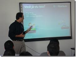 Ramon Durães no I Fórum Microsoft para Gerentes de Sistemas (BH)