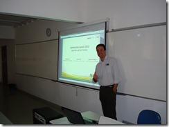 Ramon Durães palestra no Microsoft Community Launch 2010 (Salvador)