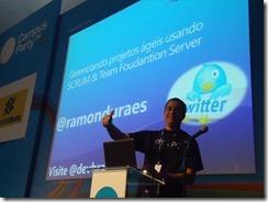 Ramon Durães palestrando no Campus Party Brasil 2011