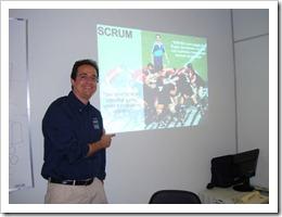 Ramon Durães, Treinamento SCRUM TCE Belém 2010