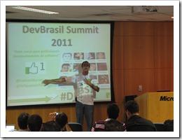 Ramon Durães no DevBrasil Summit 2011