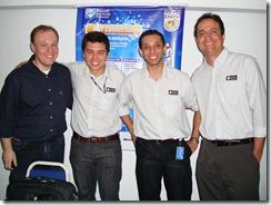 Ramon Durães, Rodrigo Kono, Álvaro Rezende e Nelson Kolarik MVP Connection 2009