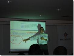 Ramon Durães palestrando no MVP Connection 2009 em Goiânia