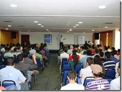 Ramon Durães palestrando no MVPConnection 2009 em Goiânia
