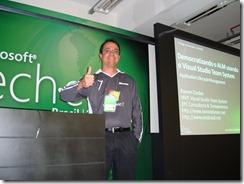 Ramon Durães palestrando no Microsoft Tech-Ed 2009 em  São Paulo